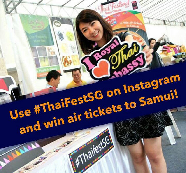 Singapore Thai Festival 2015 Instagram