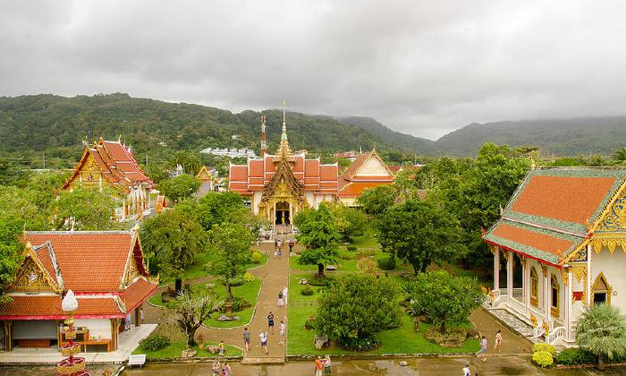 Wat Chalong, popular attractions in Phuket