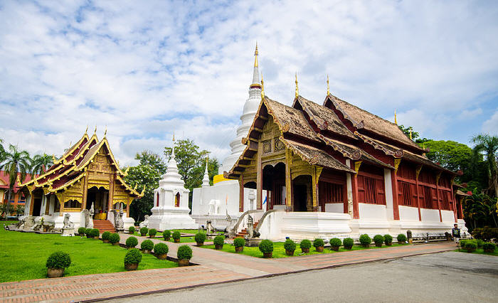 Ordination hall, Wat Phra Singh