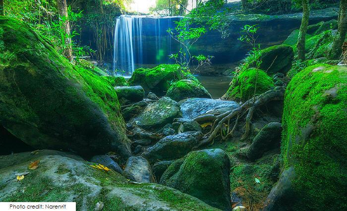 Wang Kwang Waterfall, Phu Kradueng National Park
