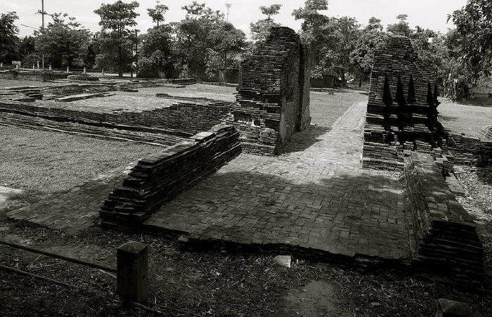 Ruins, Wiang Kum Kam, Chiang Mai