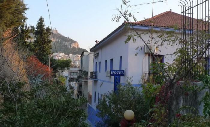 Dryades Hotel, Emmanouil Benaki 105 & Aneksartisias 7, Athens, 11473, Greece