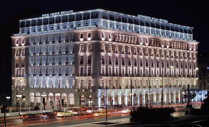 Hotel Grande Bretagne, 1 Vasileos Georgiou A' str., Athens, 105 64, Greece