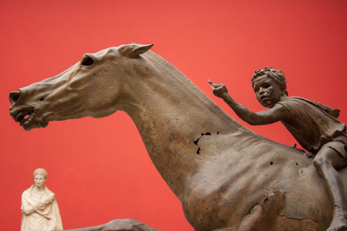 Jockey of Artemision, National Archaeological Museum, Athens