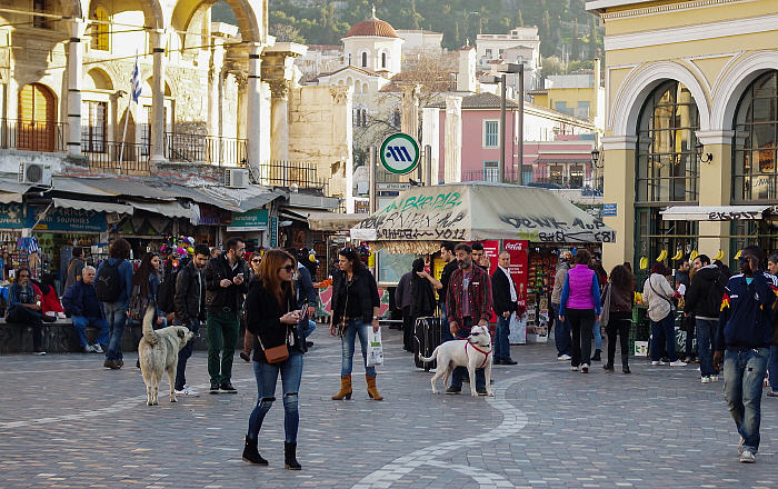 Top tourist Attractions in Athens, Monastiraki