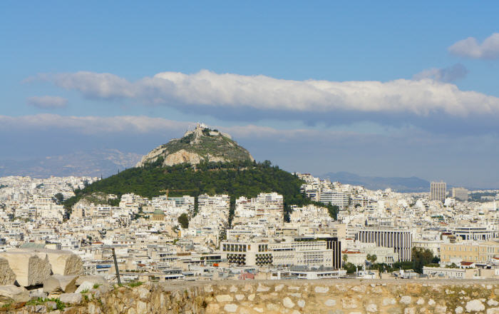 Top tourist attractions in Athens, Mount Lycabettus