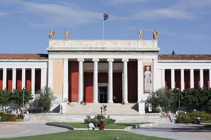 Top attractions in Athens. National Archaeological Museum