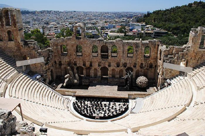 Odeon of Herodes Atticus, Top Tourist attractions in Athens