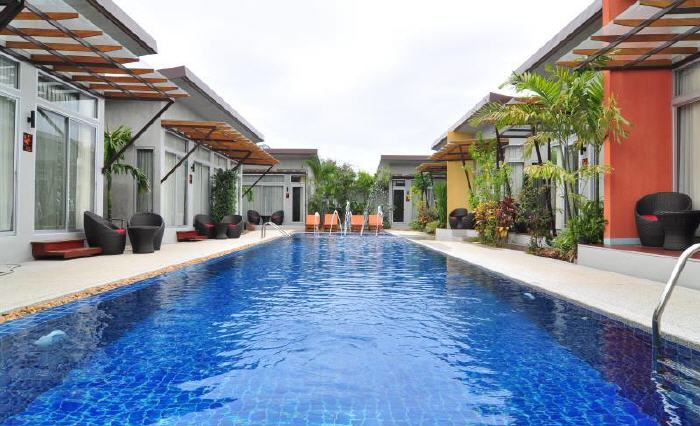 Top hotels in phuket thailand based on review score for Best beach boutique hotels