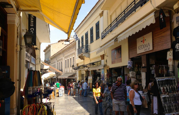 One of the Top tourist attractions in Athens, Plaka