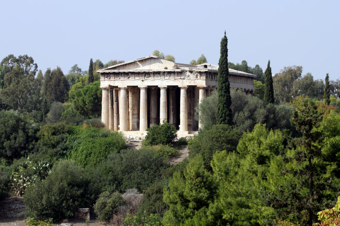 Temple of Hephaestus, Ancient Agora of Athens, one of top tourist attractions in Athens
