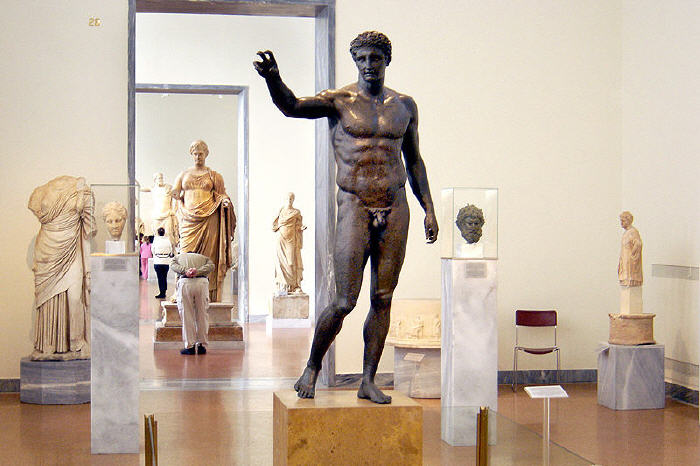 The Antikythera Ephebe, National Archaeological Museum, Athens