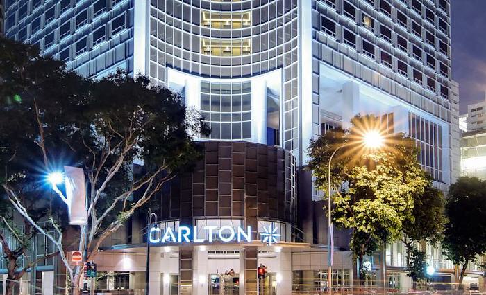 Carlton Hotel Singapore, 76 Bras Basah Road, City Hall, 189558 Singapore