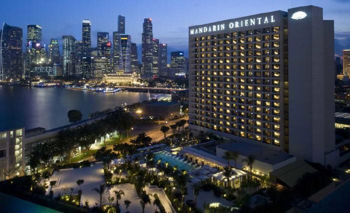 Mandarin Oriental, Singapore, 5 Raffles Avenue, Marina Square, Marina Bay, 039797 Singapore