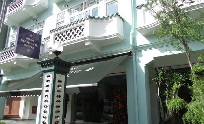 New Majestic Hotel, 31-37, Bukit Pasoh Road, Chinatown, 089845 Singapore