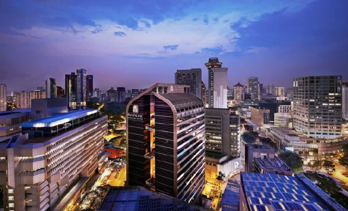 Pan Pacific Serviced Suites Orchard, Somerset Road, Orchard, 238163 Singapore