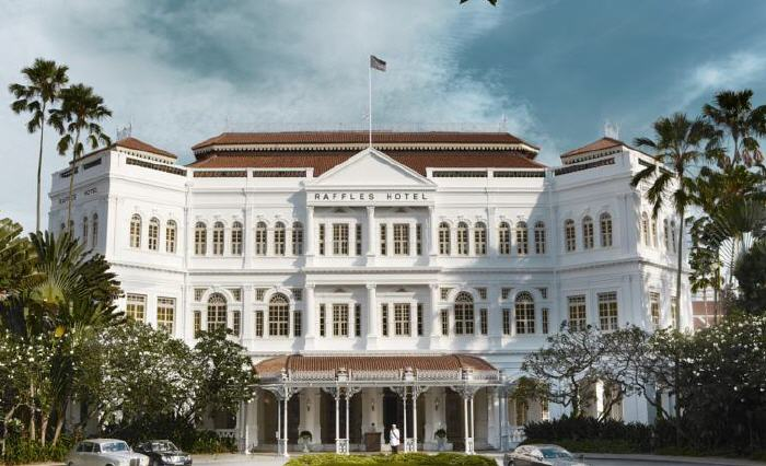 Raffles Singapore, 1 Beach Road, City Hall, 189673 Singapore