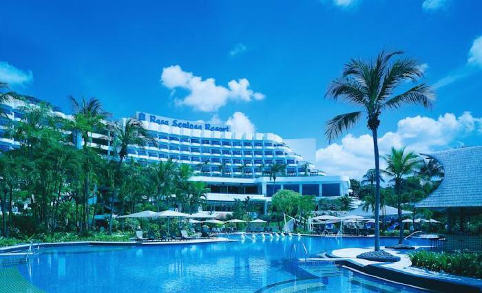 Shangri-La's Rasa Sentosa Resort & Spa, 101 Siloso Road, Sentosa Island, 098970 Singapore