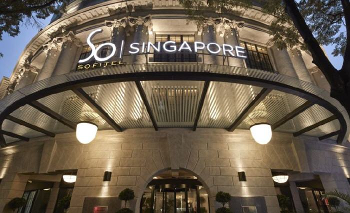 Sofitel So Singapore, 35 Robinson Road (Alighting point – Boon Tat Link), Marina Bay, 068876 Singapore