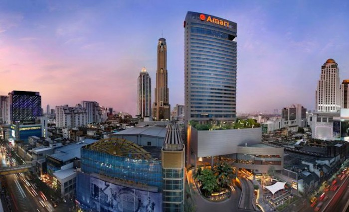 Amari Watergate Bangkok, 847 Petchburi Road, Rajthevi, Pratunam, Phayathai, Pathumwan, 10400 Bangkok, Thailand