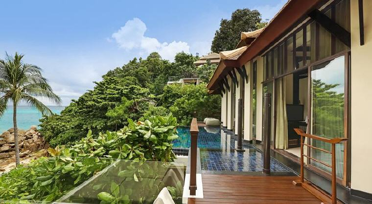 Partial Ocean View Pool Villa, Banyan Tree Samui