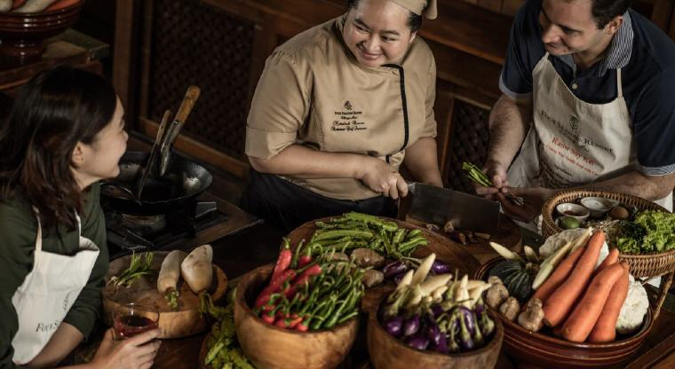 Cooking School, Four Seasons Resort Chiang Mai