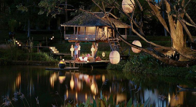 Reserve private dinner, Four Seasons Resort Chiang Mai