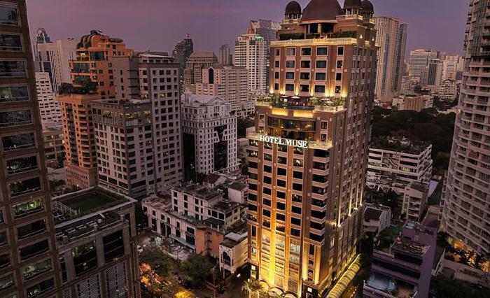 Hotel Muse Bangkok Langsuan - MGallery Collection, 55/555 Langsuan Road, Lumpini, Pathumwan, Pathumwan, 10330 Bangkok, Thailand