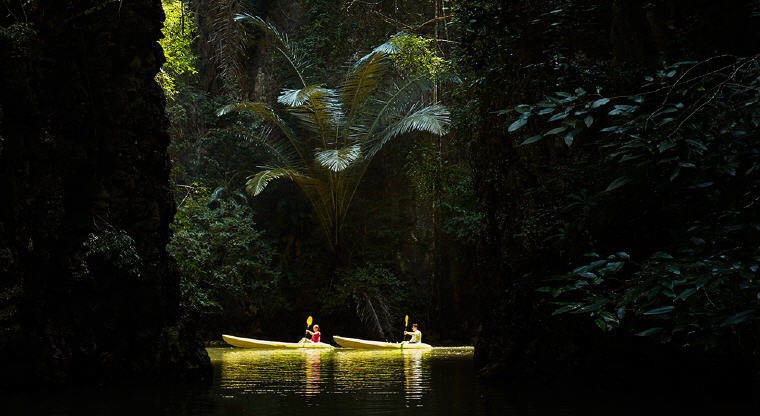 Kayaking, Phulay Bay, A Ritz-Carlton Reserve