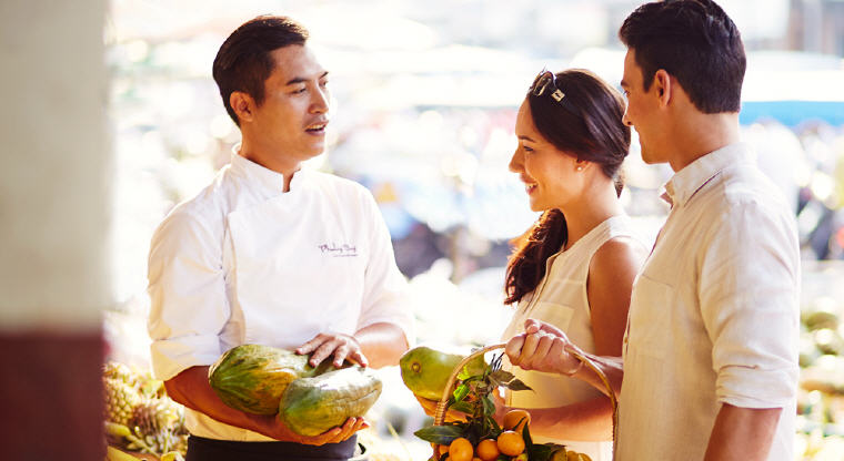 Local Market with the Chef, Phulay Bay, A Ritz-Carlton Reserve