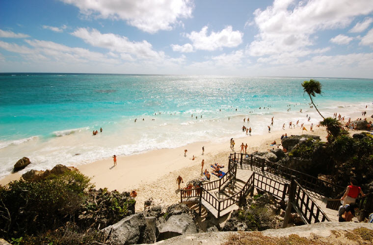 Playa Paraiso, Tulum, Mexico, TripAdvisor's 25 Best Beaches in the World 2016