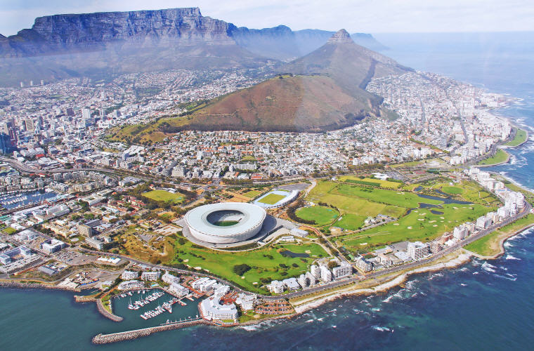 Cape Town, Top 10 least expensive destinations