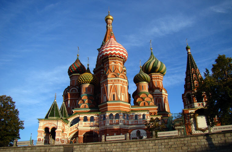 St. Basil's Cathedral, Red Square, Moscow, Best time to book hotels for Summer Travel