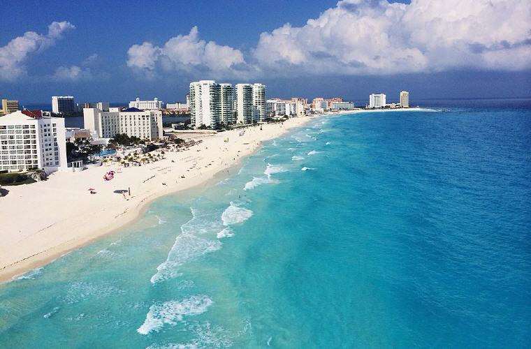 Cancun, Mexico, Top 10 summer destinations US travelers are going 2016