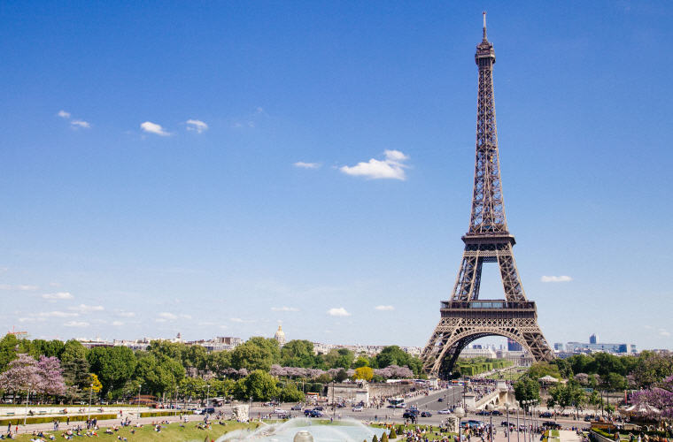 Eiffel Tower, Paris, France, Top 10 summer destinations US travelers are going 2016