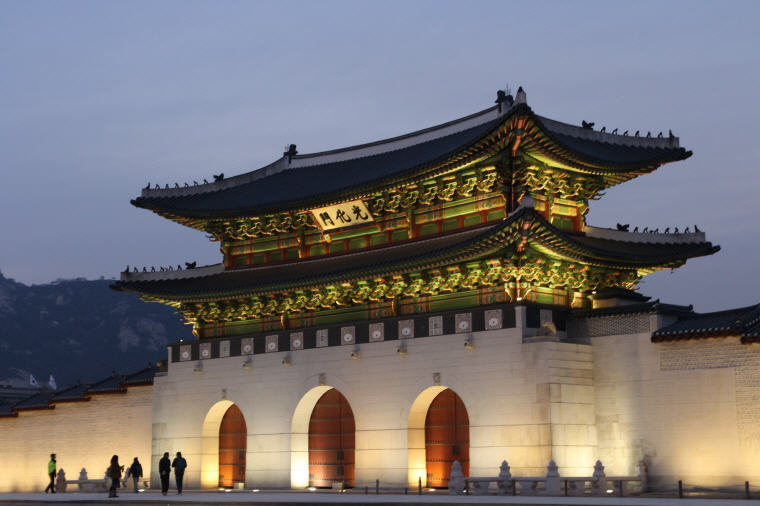 Gwanghwamun, Korea, Cheap flights guide to 10 favourite holiday destinations