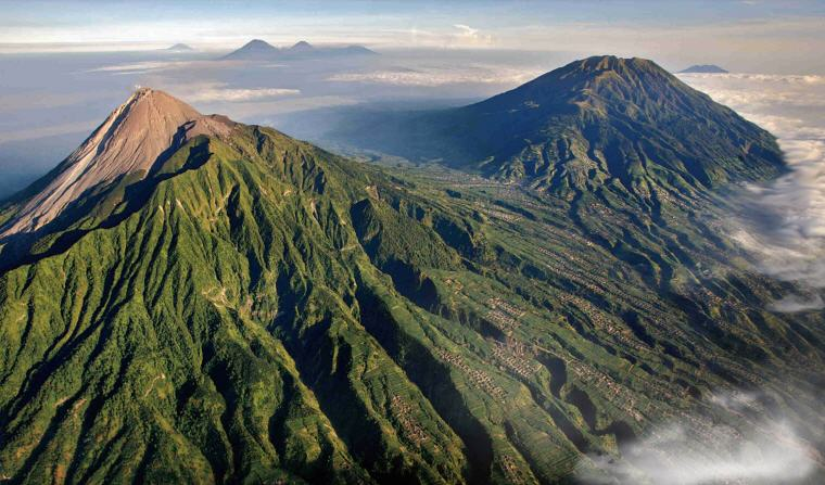 Mount Merapi, Indonesia, Cheap flights guide to 10 favourite holiday destinations