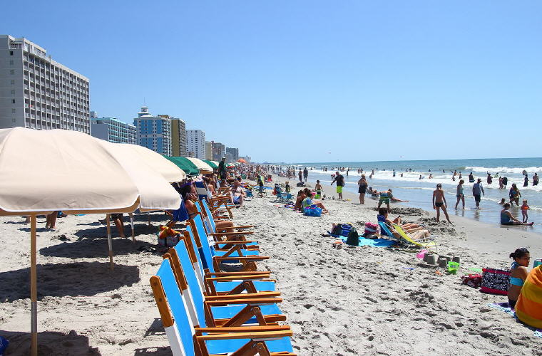 Myrtle Beach, South Carolina, Top 10 summer destinations US travelers are going 2016