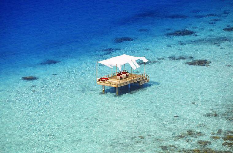 Piano Deck Dining, Baros Maldives, Top 25 Romantic Hotels - World 2016