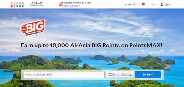 PointsMAX Air Asia
