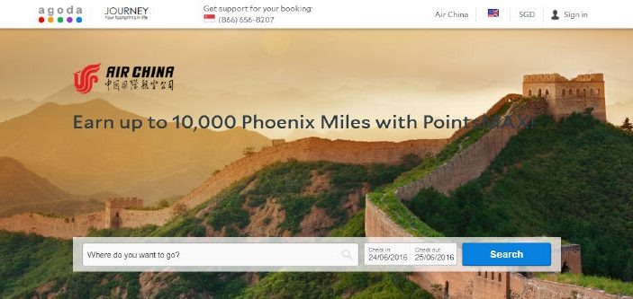 PointsMAX Air China