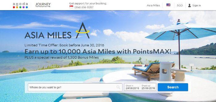 PointsMAX Asia Miles