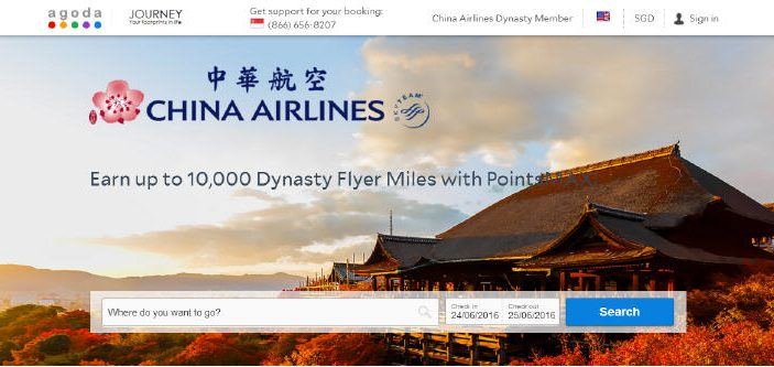 PointsMAX China Airlines