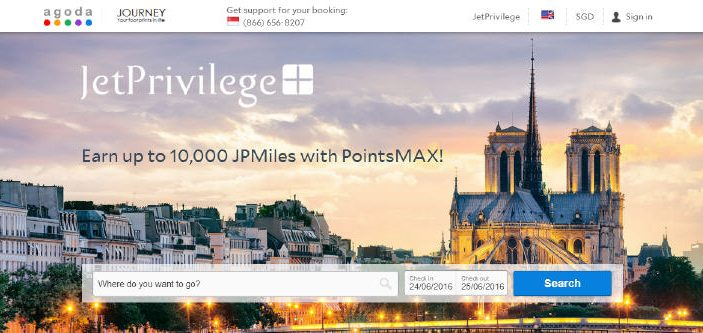 PointsMAX JetPrivilege