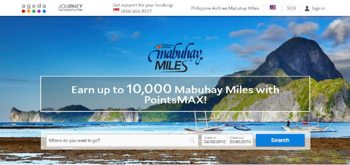 PointsMAX Philippines Airlines Mabuhay Miles
