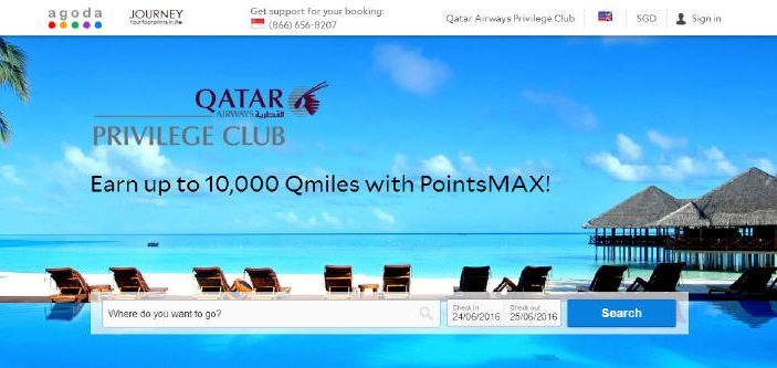 PointsMAX QATAR Airways Privilege Club