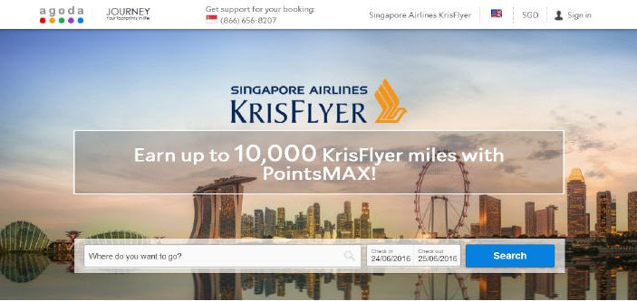 PointsMAX Singapore Airlines KrisFlyer