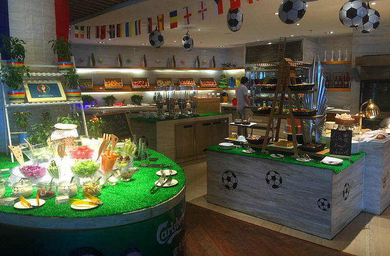 Breakfast Euro 2016 Theme at Sofitel Nanjing Galaxy