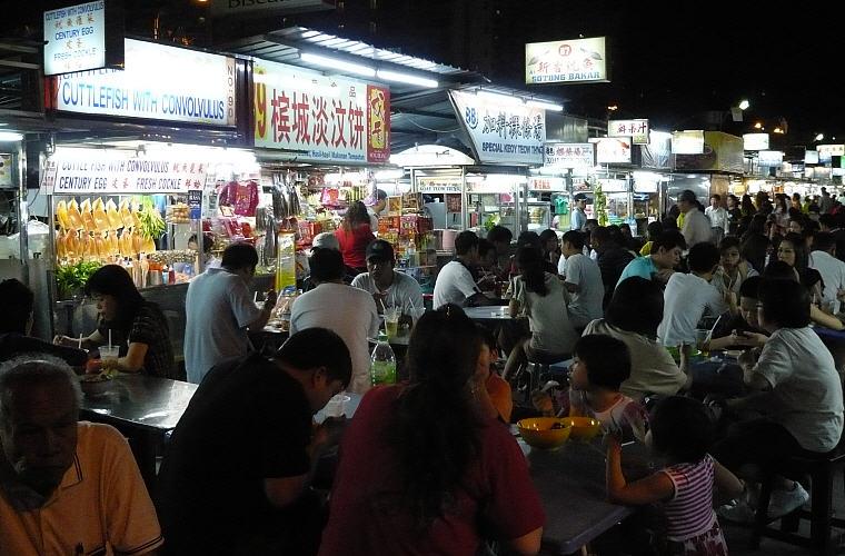 Foodcourt, Gurney Drive, Penang, Malaysia