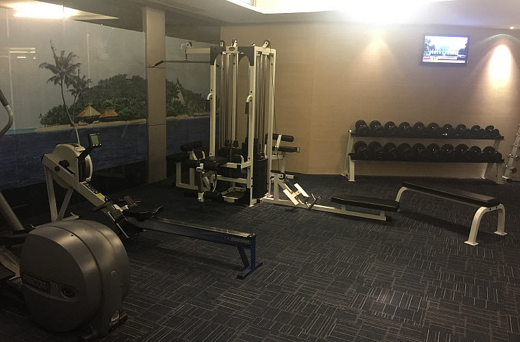 Gym, Sofitel Nanjing Galaxy, Nanjing, China